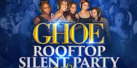 GHOE 2021 ROOFTOP SILENT PARTY- 3 LEVELS, 3 DJS #NCAT #30PLUS tickets