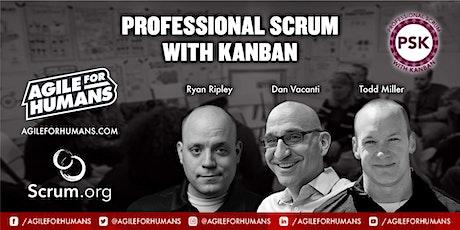 Professional Scrum with Kanban (PSK) ONLINE Certification Class - PSK I biglietti