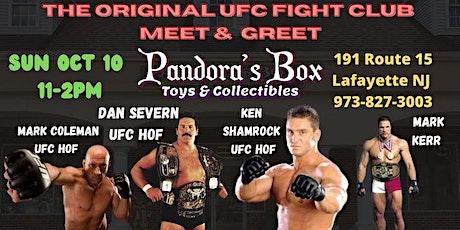 UFC Fight Club Meet & Greet: Ken Shamrock Dan Severn Mark Coleman Mark Kerr tickets