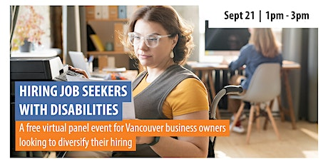 Hiring Job Seekers With Disabilities: A Panel Event for Employers tickets