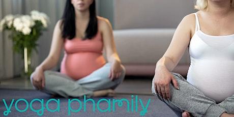 Virtual prenatal yoga tickets