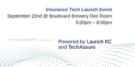 LaunchKC & Brush Creek Partners Insurtech Announcement tickets