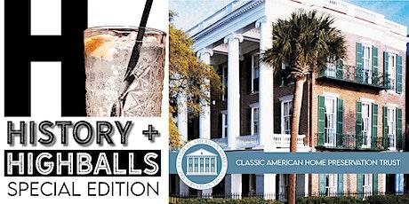 History + Highballs: Roper House tickets