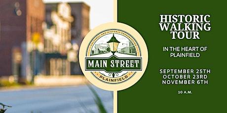 Main Street Plainfield Historic Walking Tour tickets