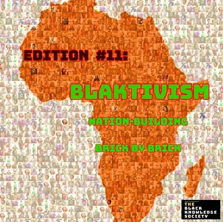 Blaktivism: Nation-building brick by brick image