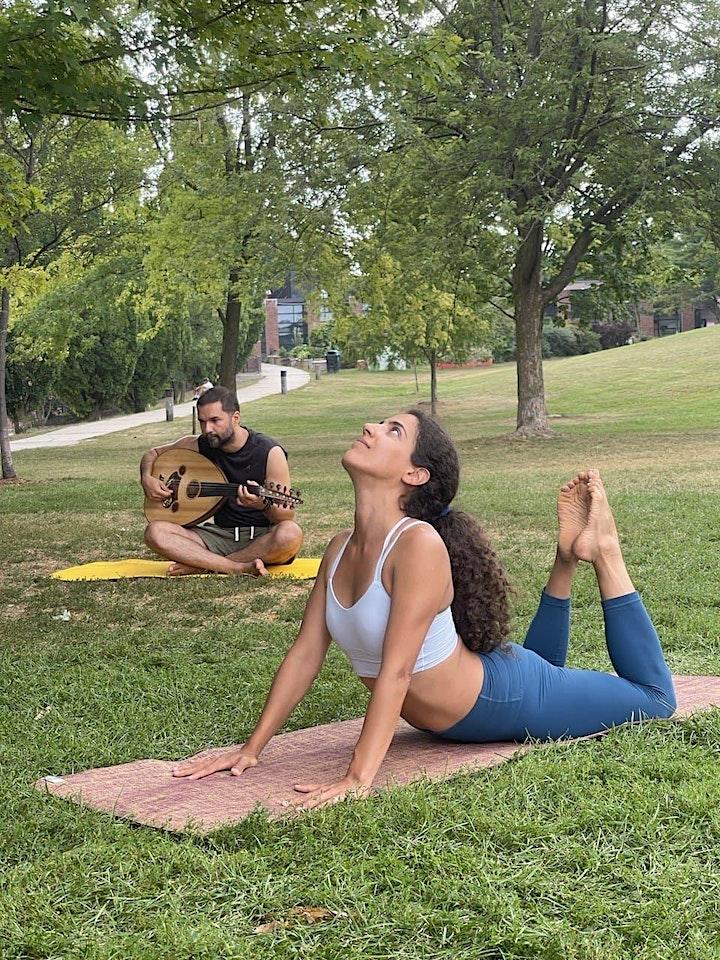 Outdoor Yoga Class - Eglinton Park (Intermediate) - 50% off first class image