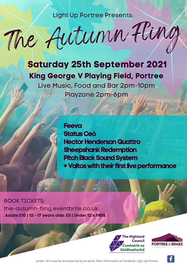 The Autumn Fling. Live Music, Food, Play Zone & Bar. image