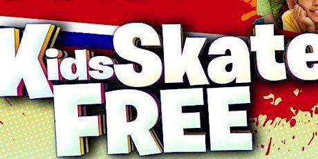 Kids Skate FREE in September on Sundays - Sunday, Sept. 26th 1:00-3:00pm tickets