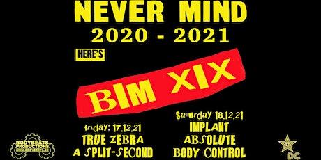 BIMFEST XIX - 2021 billets