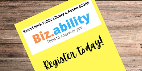Biz.ability: Starting a Business Successfully tickets
