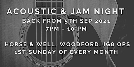 Horse & Well Acoustic & Jam Night tickets