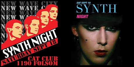 """2 for 1 admission to New Wave City """"Synth Night"""" Sep 18 tickets"""