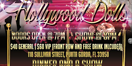 BIANCA L'AMOUR'S HOLLYWOOD DOLLS tickets