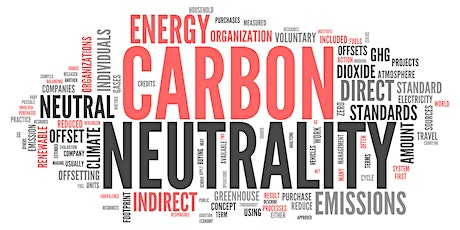 CARBON NEUTRALITY:  Challenges & Opportunities tickets