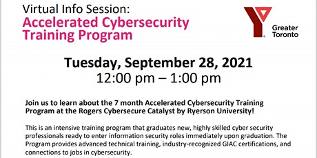 Virtual Info Session:  Accelerated Cybersecurity Training Program tickets