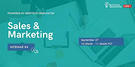 BioTools Innovator LIVE: Sales and Marketing tickets