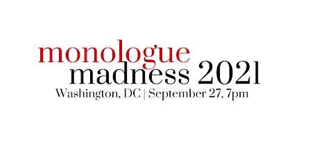 Monologue Madness DC   2021 tickets