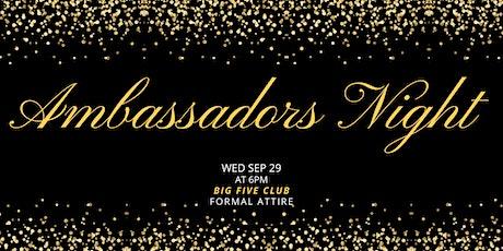 Ambassadors Night tickets
