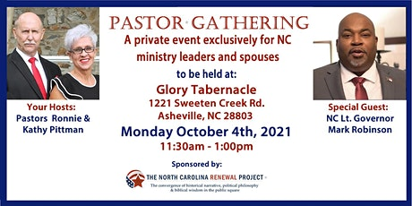 Pastor Gathering NC-Asheville tickets