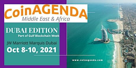 CoinAgenda Middle East & Africa: Dubai (Plus BitAngels Day) tickets