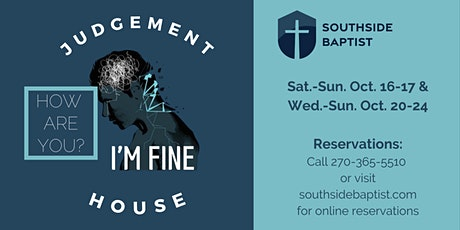 Judgement House 2021- Wednesday, Oct. 20th tickets