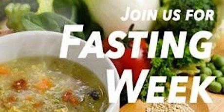 Group Fasting Challenge billets