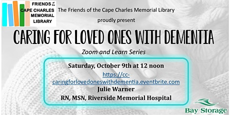Caring for Loved Ones with Dementia tickets