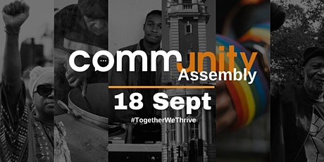 CommUNITY Assembly - 18th Sept - Lambeth Town Hall tickets