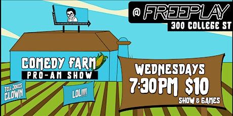 Bubbies Boys Presents: Comedy Farm @ Freeplay tickets