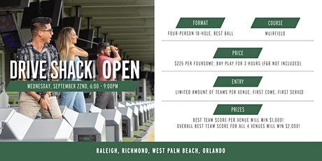 Drive Shack Open (West Palm Beach) tickets