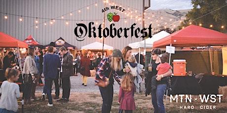 6th Annual 4th West Oktoberfest tickets