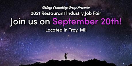 2021 Restaurant Industry Job Fair tickets