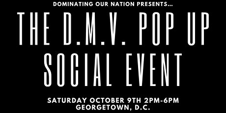 The D.M.V. Pop Up Social Event tickets