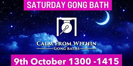 Gong Bath - Saturday 9th October tickets