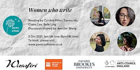 Poetics of Home: Women who Write tickets