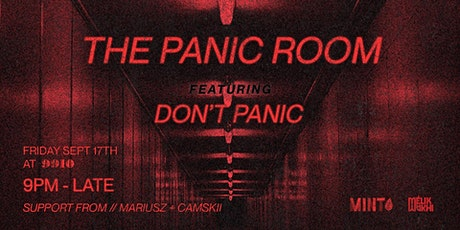 Dont Panic pres. The Panic Room tickets