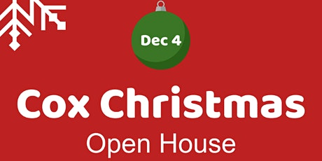 Cox Christmas Open House tickets