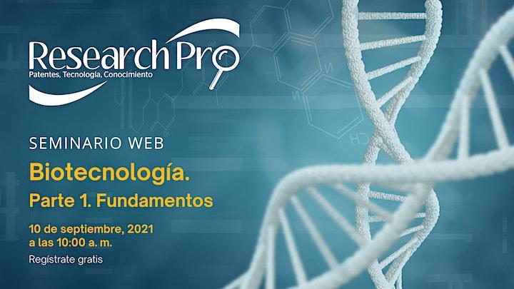 Imagen de BIOTECNOLOGÍA. Fundamentos - Regulatorio - Propiedad Intelectual