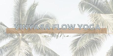 Vinyasa Flow Yoga with Mia tickets