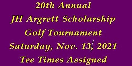 2020 JH Argrett Golf Tournament - Cimarrone Golf & Country Club tickets