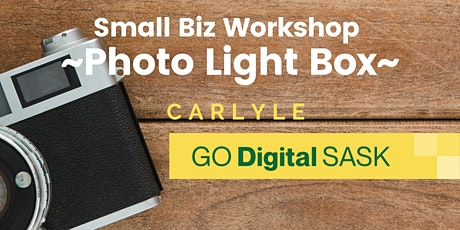 Build a Photo Light Box (for Small Business) - Carlyle tickets