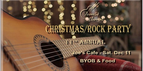 Acoustik Element- 11th Annual Christmas Party tickets