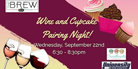 Sweet Wine and Cupcake Pairing Night! tickets