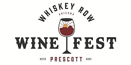Whiskey Row Wine Festival tickets