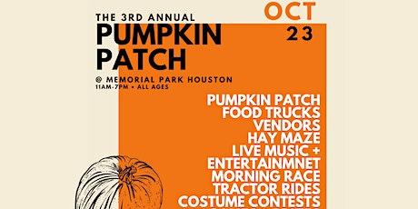 Pumpkin Patch at Memorial Park tickets