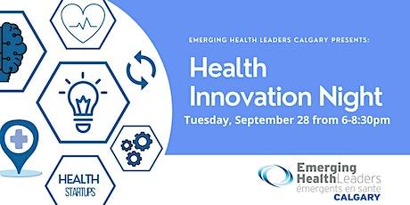 Emerging Health Leaders 2021 Health Innovation Night tickets