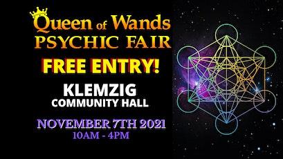 Queen of Wands Psychic Fair - AT KLEMZIG! tickets