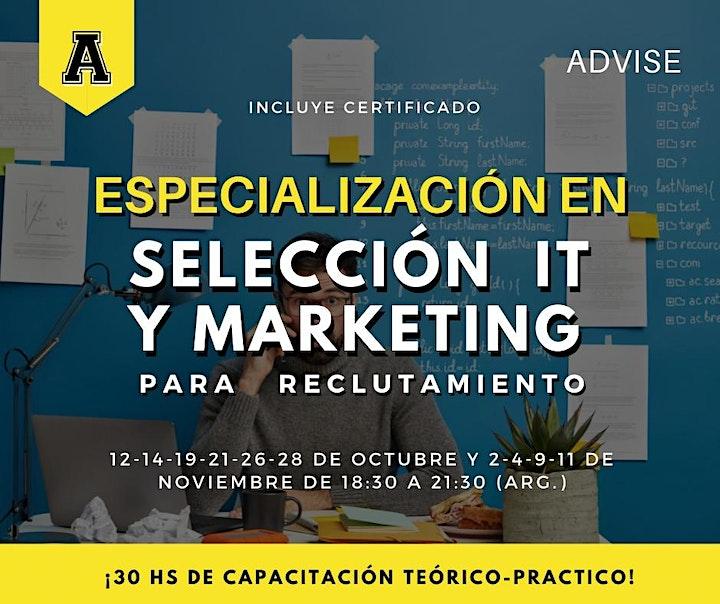 Imagen de Especialización en Selección IT y Marketing para reclutamiento - 30 horas