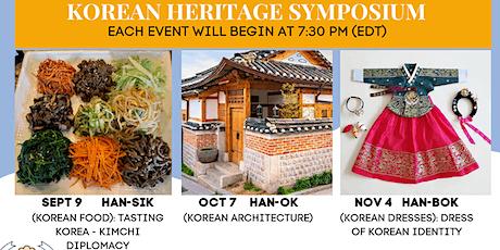 Korean Heritage Symposium tickets