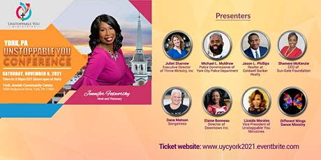Unstoppable You Conference - York, PA tickets